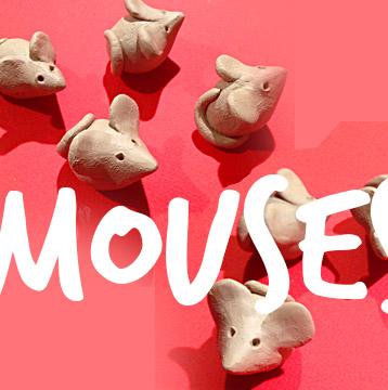 J'ai sculpté 8 souris …ça m'a bien détendu