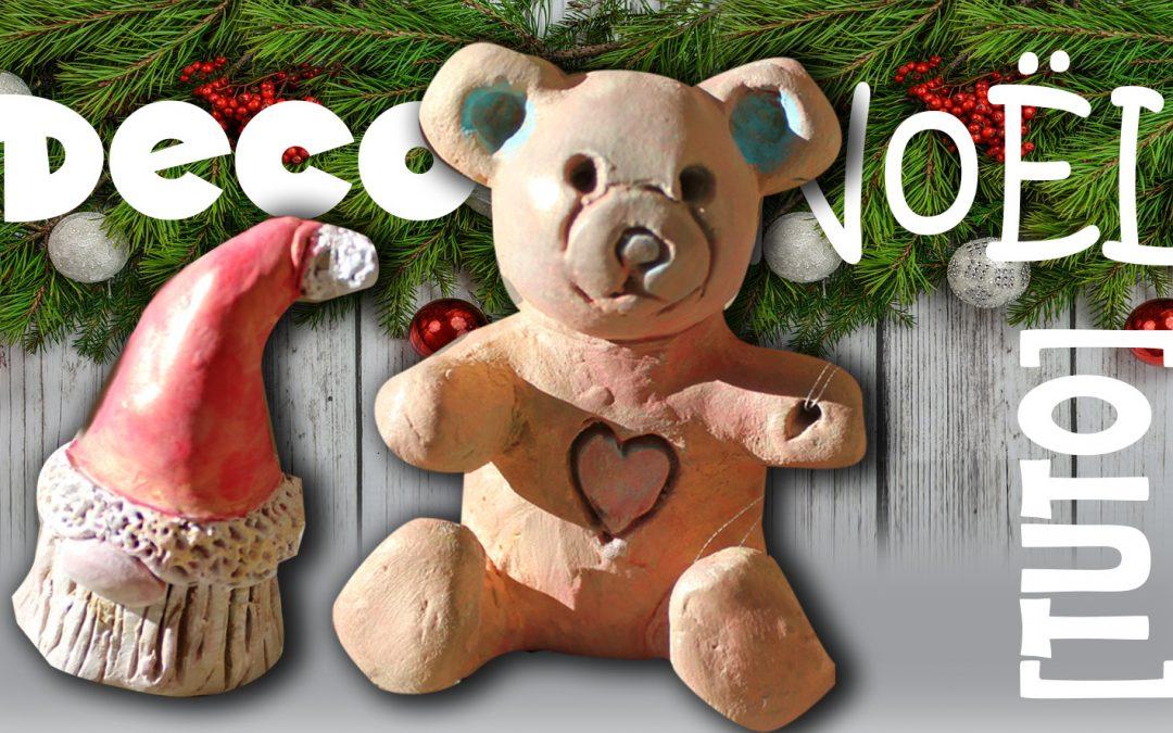 [TUTO en VIDEO] Sculptez votre DECO de Noël en argile sans cuisson