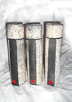 boîte conservation de la vanille en raku