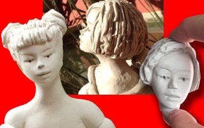 Mes 10 astuces pour sculpter un petit visage