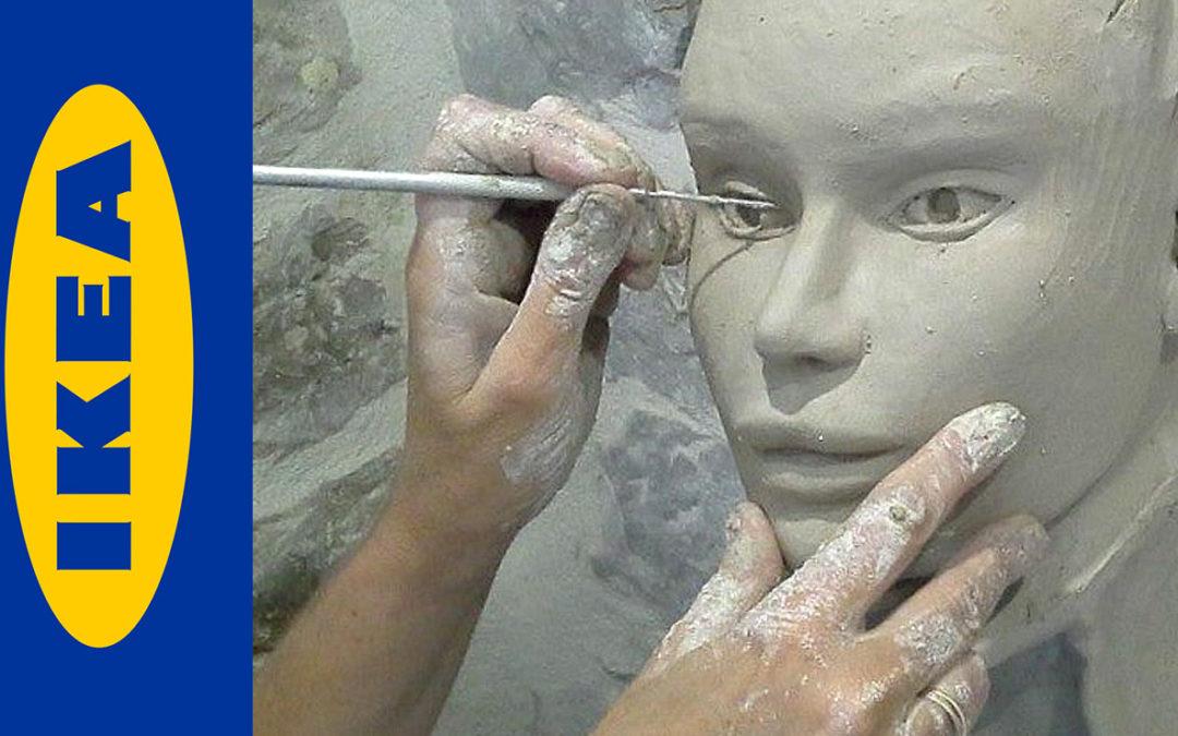 article defi sculpter un visage avec la m thode ikea. Black Bedroom Furniture Sets. Home Design Ideas