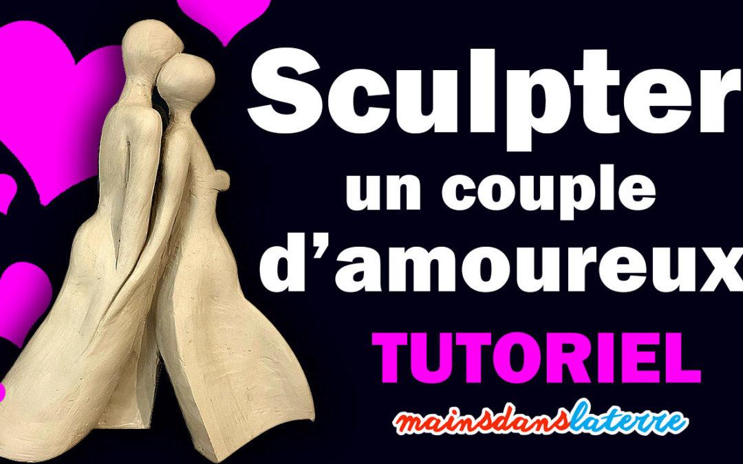 Cours de sculpture : sculptez un couple d'amoureux à partir d'un bloc d'argile