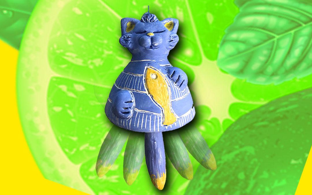 Cours de sculpture gratuit : sculpter une cloche-chat