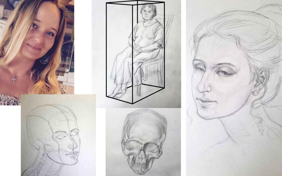 [article invité] Comment dessiner un visage et un corps dans différentes positions par Eléna Kuznetsova