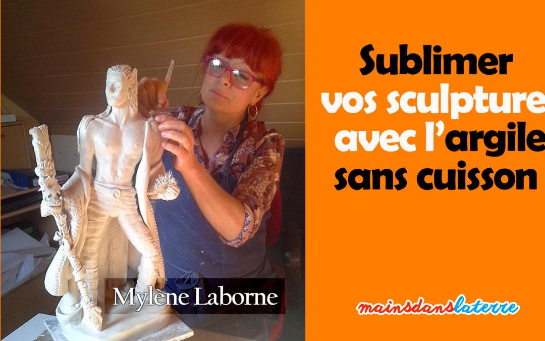 L'univers onirique de Mylène Laborne, où comment sublimer vos sculptures avec l'argile sans cuisson